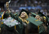 """University of Hawaii at Manoa's spring 2017 commencement ceremony at the Stan Sheriff Center on Saturday, May 13, 2017.  View more photos at the University of Hawaii Foundation Flickr album - <a href=""""https://www.flickr.com/photos/uh_foundation/sets/72157681723580841/with/34561348511/"""">www.flickr.com/photos/uh_foundation/sets/7215768172358084...</a>"""