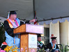 """Student speaker Jason Tannahill, inspires fellow grads. (photos by Cameron Rivera)  Leeward Community College celebrated spring 2017 commencement on Friday, May 12, 2017 at Tuthill Courtyard.  For more photos from Leeward Community College's spring 2017 commencement go to:  <a href=""""https://www.flickr.com/photos/leewardcc/sets/72157683964234296"""">www.flickr.com/photos/leewardcc/sets/72157683964234296</a>"""
