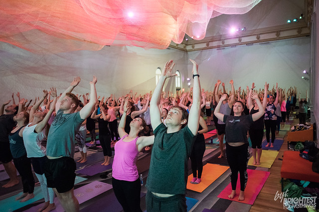 BYT + Lululemon Yoga at Renwick Gallery