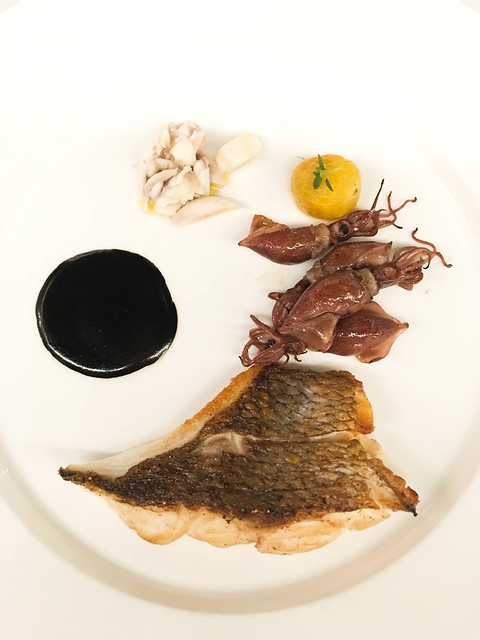 Grilled Japanese Sea Bream Fillet with Hotaruika