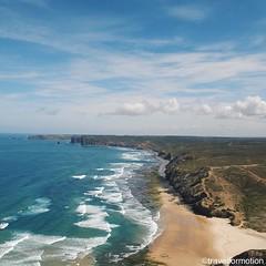 #westcoast #algarve is pure #magic #coastline #landscape #aerialphotography #waves #ocean @algarvetourism #featuremealgarve #algarve #portugal #travel #travelgram #photooftheday #guardiantravelsnaps #igportugal #instatravel #visitportugal #traveling #trav