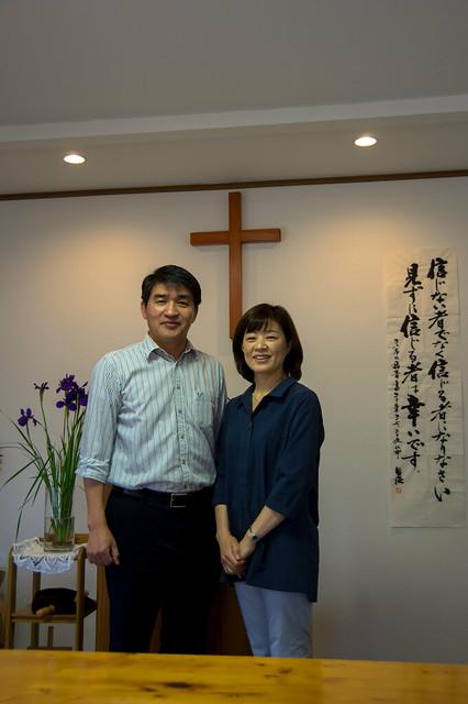 金桓基牧師先生ご夫妻