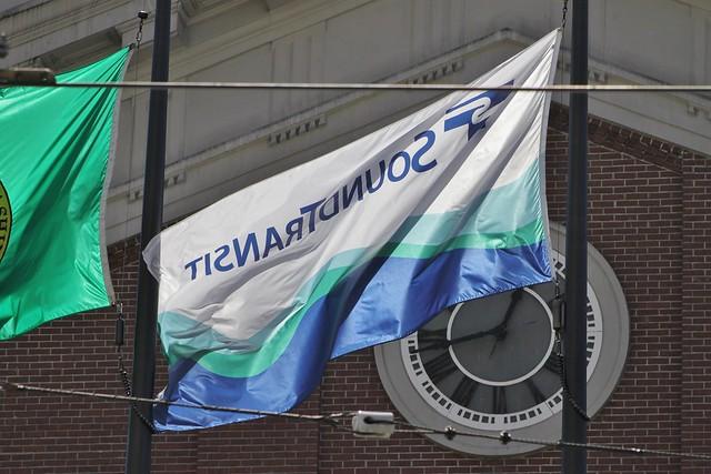 Sound Transit flag