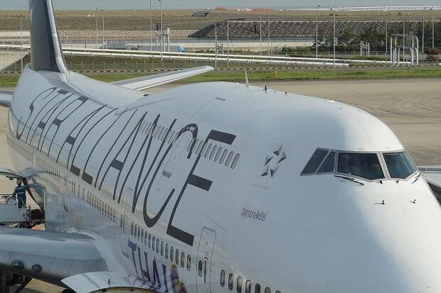 170505 タイ国際航空ボーイング747外観