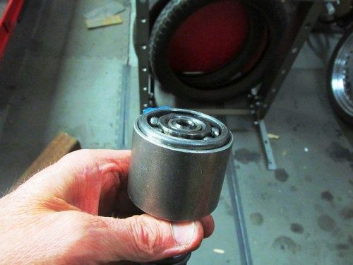 Special Tool Orientation on Input Shaft Rear Bearing