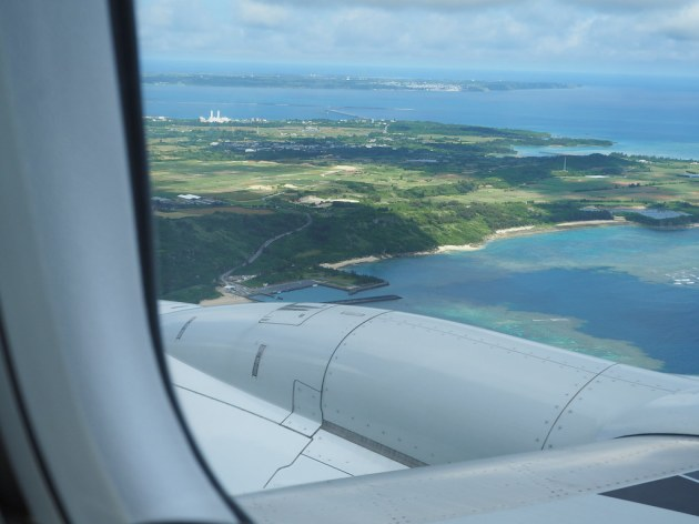 JALから見る宮古島