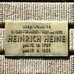 Wo einst Heine wohnte...