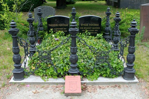 Das Grab von Theodor Fontane