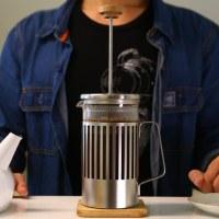 【法式濾壓壺使用教學】HARIO 咖啡茶葉兩用濾壓壺(THT-4MSV)|總代理台玻哈利歐|How to Use French Press