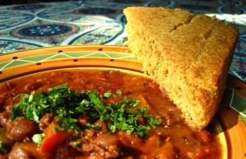 Tex-Mex Pinto Beans with Chorizo