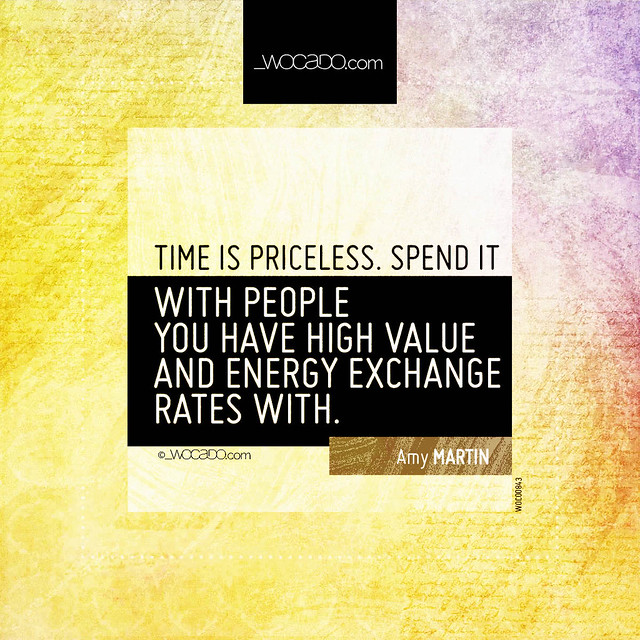 Time is priceless by WOCADO.com