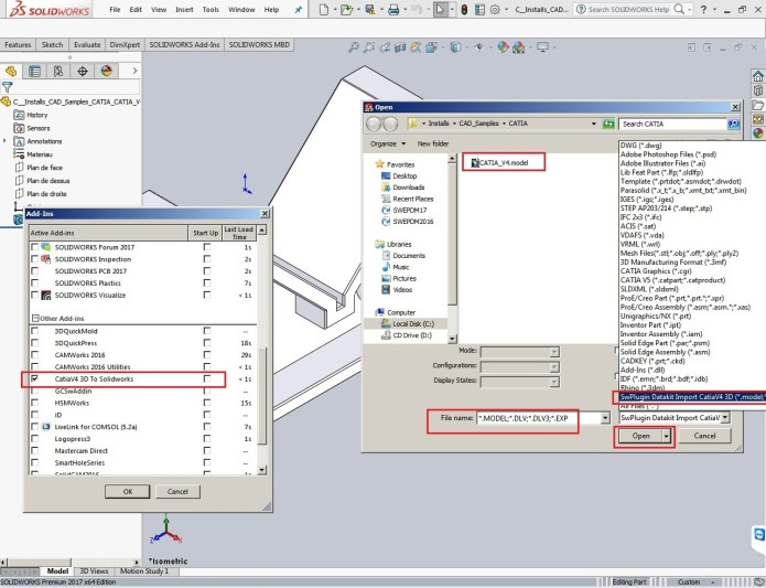 working with DATAKIT 2016 Plugins for SolidWorks 2010-2017