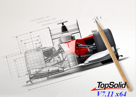 Design with TopSolid 7.11 x64 full