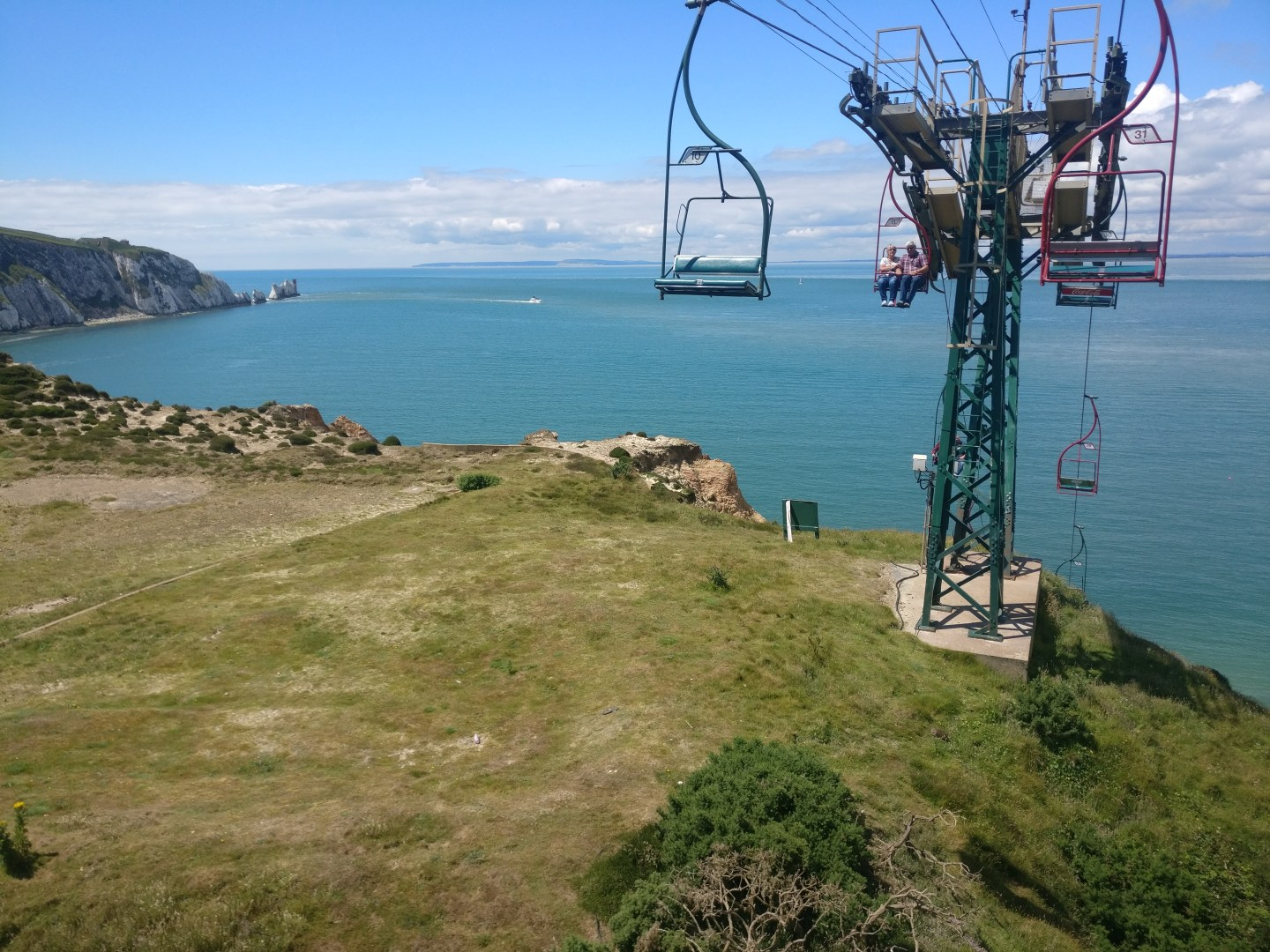 Needles viewpoint from chairlift. Photo credit Cristie Bradley