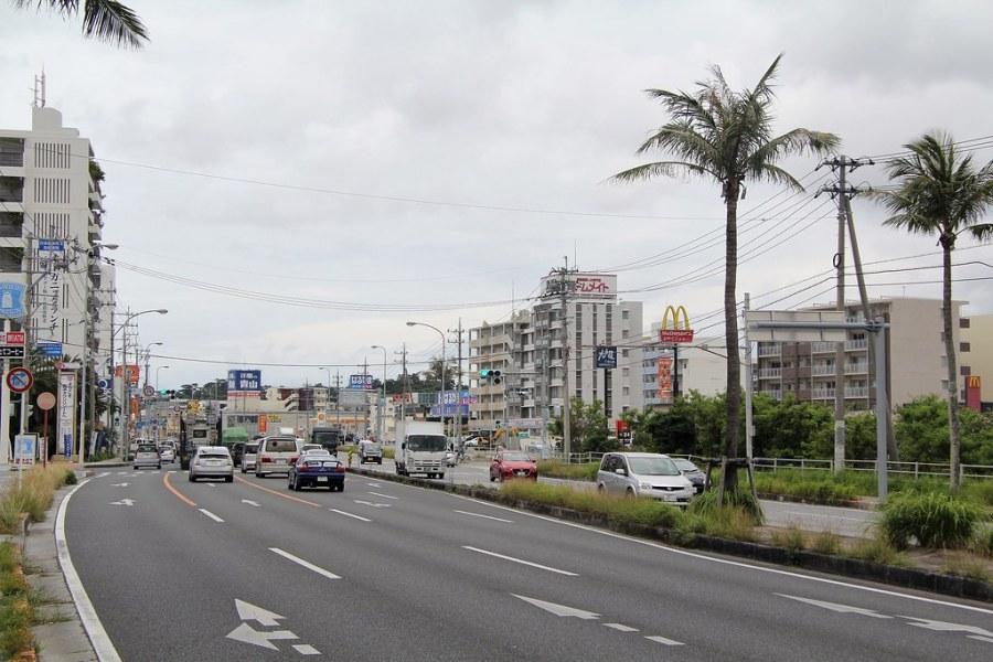 route principale okinawa