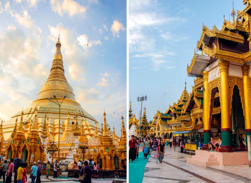 must sees i Yangon, Burma