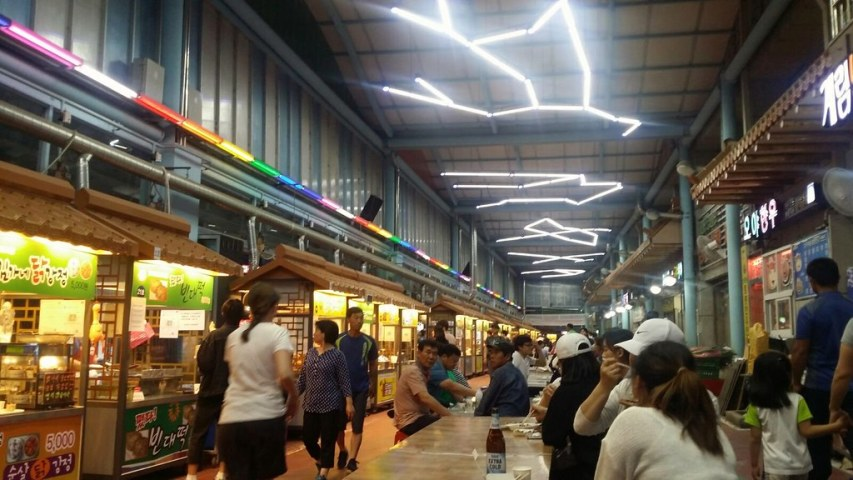 Jungang night market