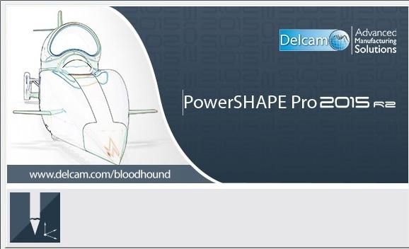 Delcam PowerSHAPE 2015 R2 + PS-Catalogues 2015 R2