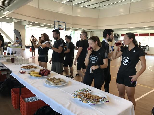 Sweat test del GSSI con adidas runners