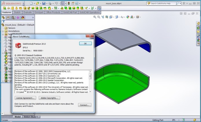 Designing with SolidWorks 2013 SP5.0 x86 x64 full license