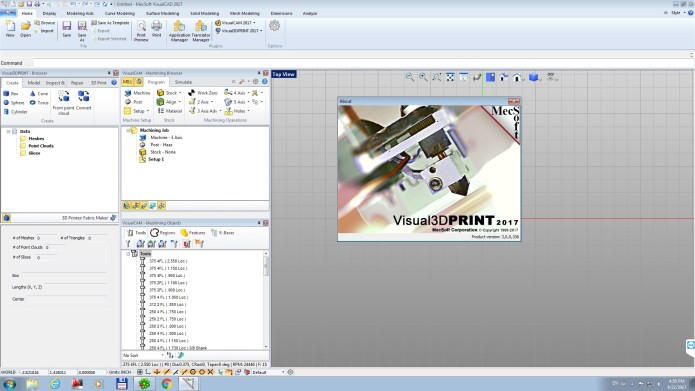 MecSoft Visual3DPRINT 2017 v3.0.336 for Visual CADCAM 2017 x86 x64