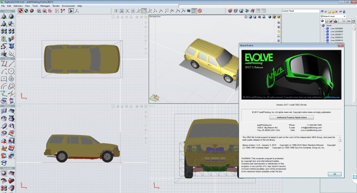 working with solidThinking Suite Evolve Inspire 2017.1.7605 Win64 full license