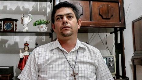 Agnaldo Freitas da Silva - presidente da Associação de Moradores da VPR Lafayete. Foto: José Eduardo Bernardes