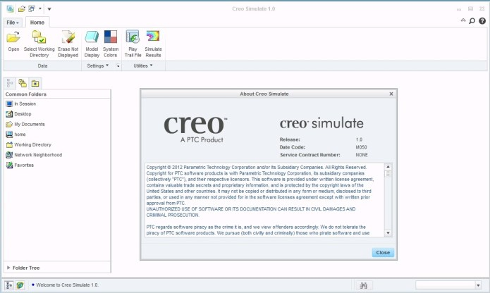 PTC Creo 1.0 M050 - Creo simulate