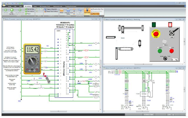 Design PLC system with Automation Studio P6 full