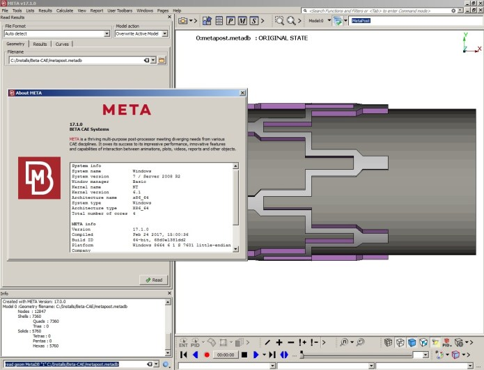 photo BETA CAE Meta Post 17.1.0 64bit full crack