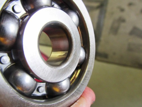 New Front Output Shaft Bearing Inner Race Beveled on Both Ends