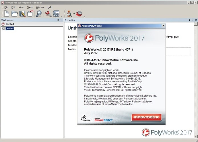 Working with InnovMetric PolyWorks 2017 IR3 Win32 win64 full crack