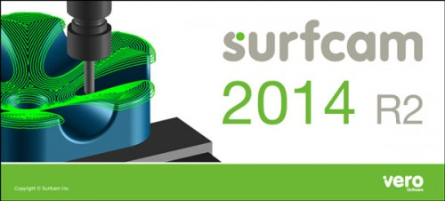 VERO SURFCAM V2014 R2 32bit 64bit full crack