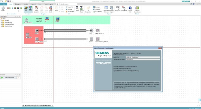 Working with Siemens Tecnomatix Plant Simulation 13.1 64bit full crack