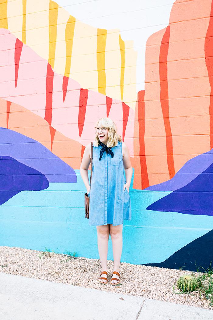 austin fashion blogger writes like a girl old navy denim dress17
