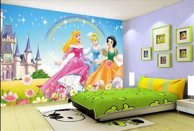 Các nàng tiên cho phòng của bé gái.