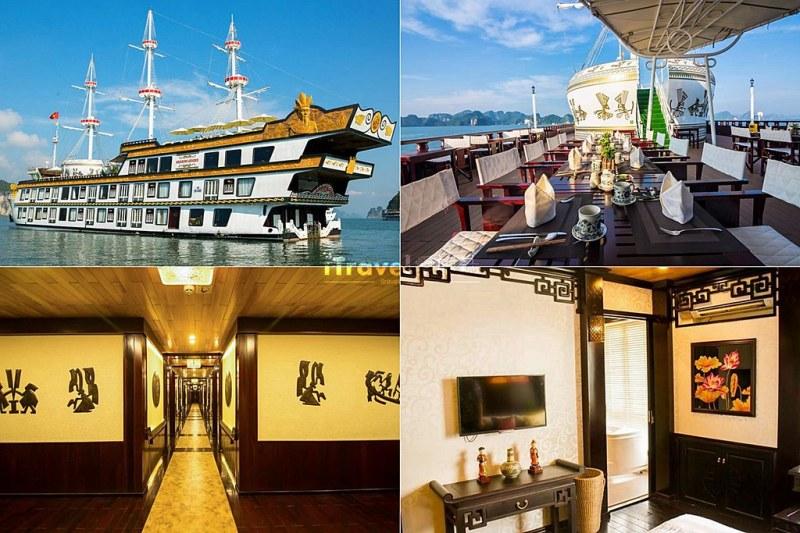 《下龙湾饭店推荐》Top 10 五星级海上船屋酒店精选