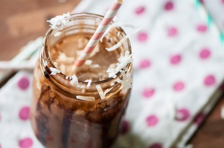 Almond Joy Iced Coffee