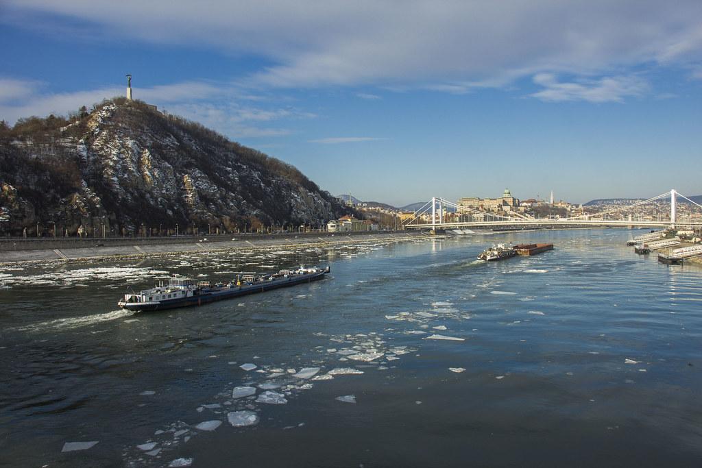 Donauen i Budapest