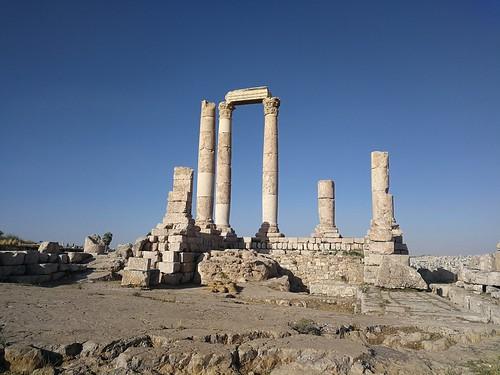 Hercules Temple ในเมืองอัมมาน