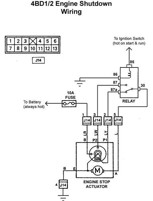 diagram isuzu 4hg1 wiring diagram full version hd quality