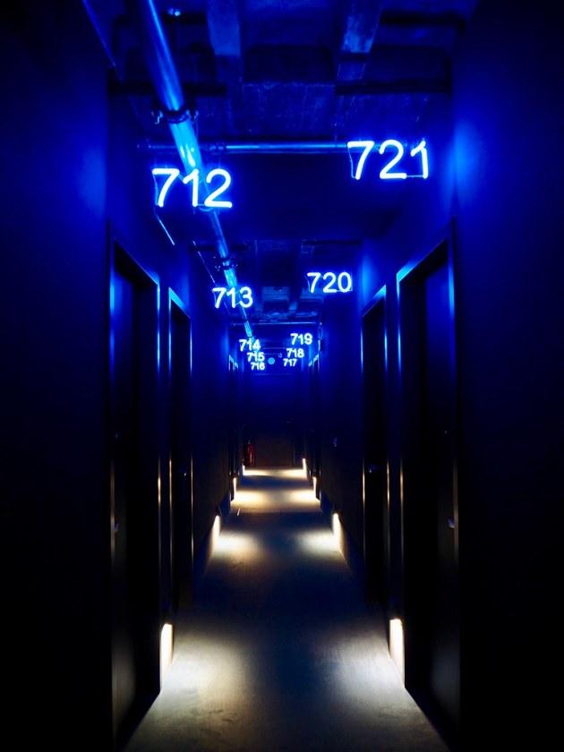 25hours Hotel Corridor
