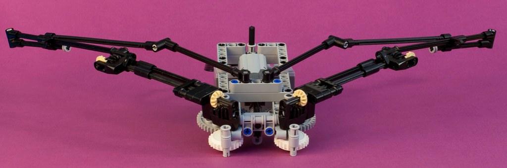 Lego Folding Wings