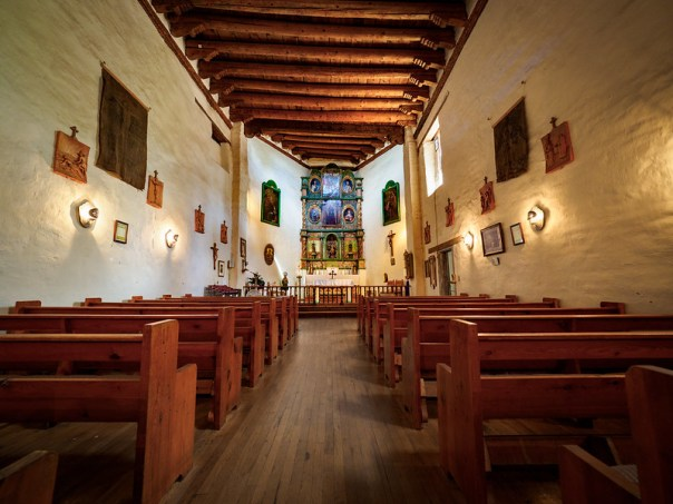 San Miguel Mission interior