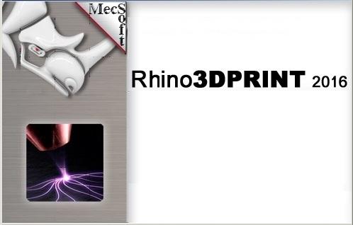 MecSoft Rhino3DPrint 2016 v2.0.324 for Rhino5 Win64