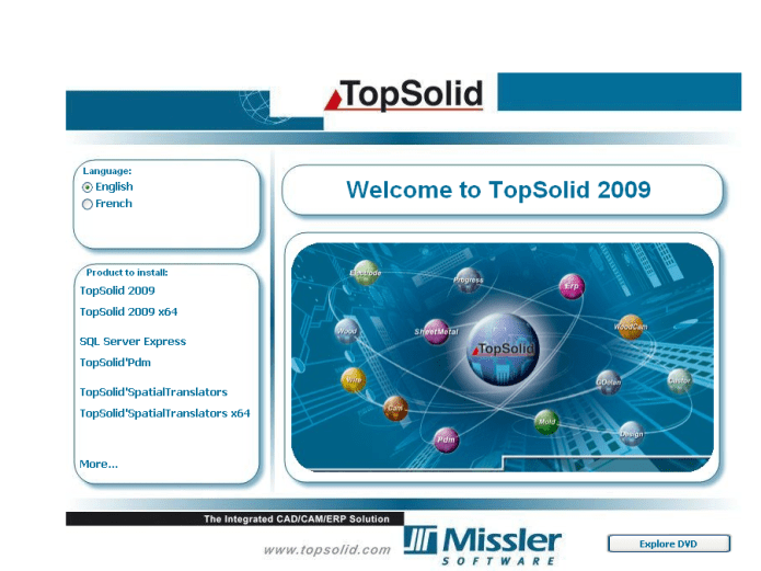 Topsolid 2009 x86 x64 full license