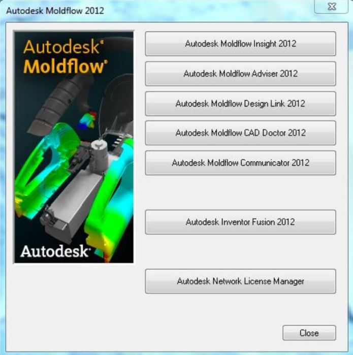 Features of Autodesk Moldflow 2012 SP2
