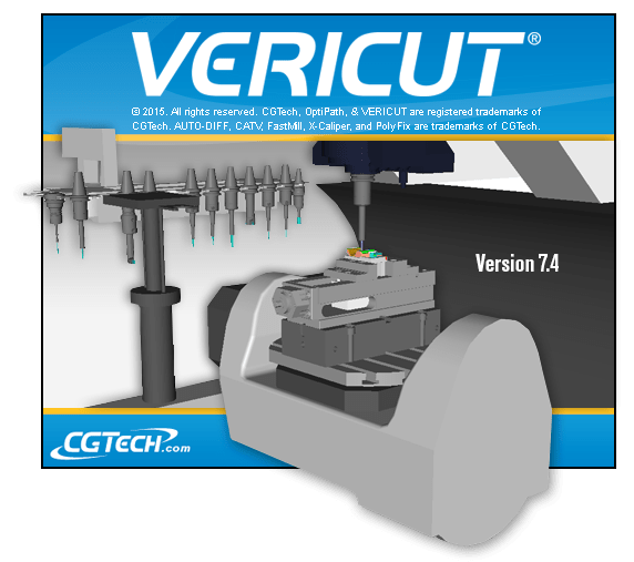 Vericut 7.4.1 full software