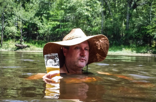 Edisto River Rope Swing and Beer Commercial Float-106