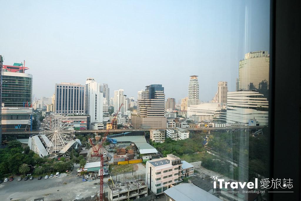 《曼谷酒店推介》万豪马奎斯女王公园酒店:挑高视野五星酒店